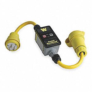 LINE CORD,GFCI,30 AMPS AC,120 VOLTS