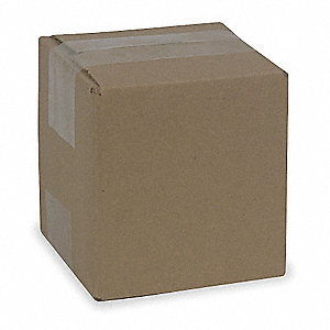 "Multidepth Shipping Carton, Brown, Inside Width 4"", Inside Length 4"", 65 lb., 1 EA"