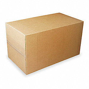 "Multidepth Shipping Carton, Brown, Inside Width 20"", Inside Length 20"", 65 lb., 1 EA"