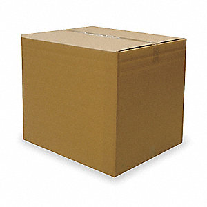 "Multidepth Shipping Carton, Brown, Inside Width 24"", Inside Length 29"", 100 lb., 1 EA"
