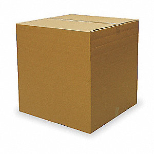 "Multidepth Shipping Carton, Brown, Inside Width 20"", Inside Length 26"", 95 lb., 1 EA"