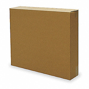 SHIPPING CARTON,BROWN,24 IN. L,6 IN