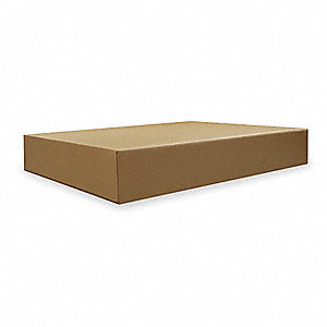 SHIPPING CARTON,BROWN,40 IN. L,8 IN