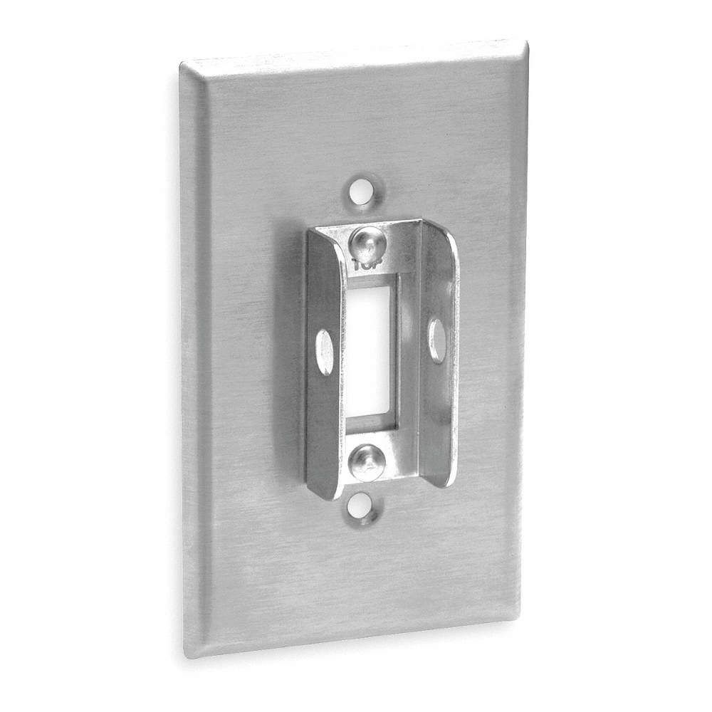 84001-LOK LEVITON Toggle Switch//Rocker Wall Plate Silver Number of Gangs: 1