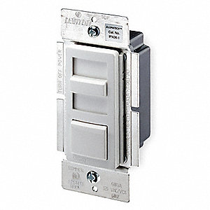 Lighting Dimmer,Slide,1-Pole/3-Way,120V