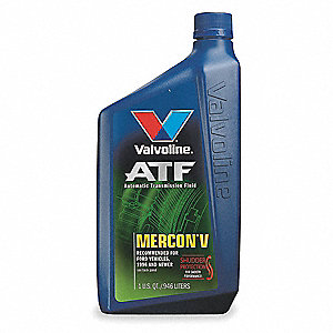 Transmission Fluid,Mercon(R) V,1qt.