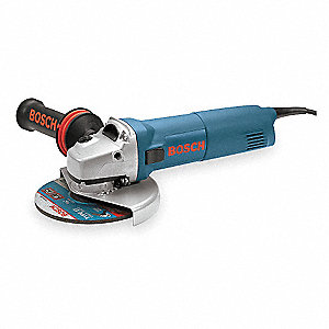 "12-Amp Trigger-Switch Angle Grinder with 6"" Wheel Dia."