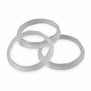 Kitchen Washer, For Use With Slip Nut, White/Plastic