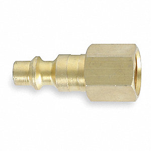 Coupler Plug,(F)NPT,Brass