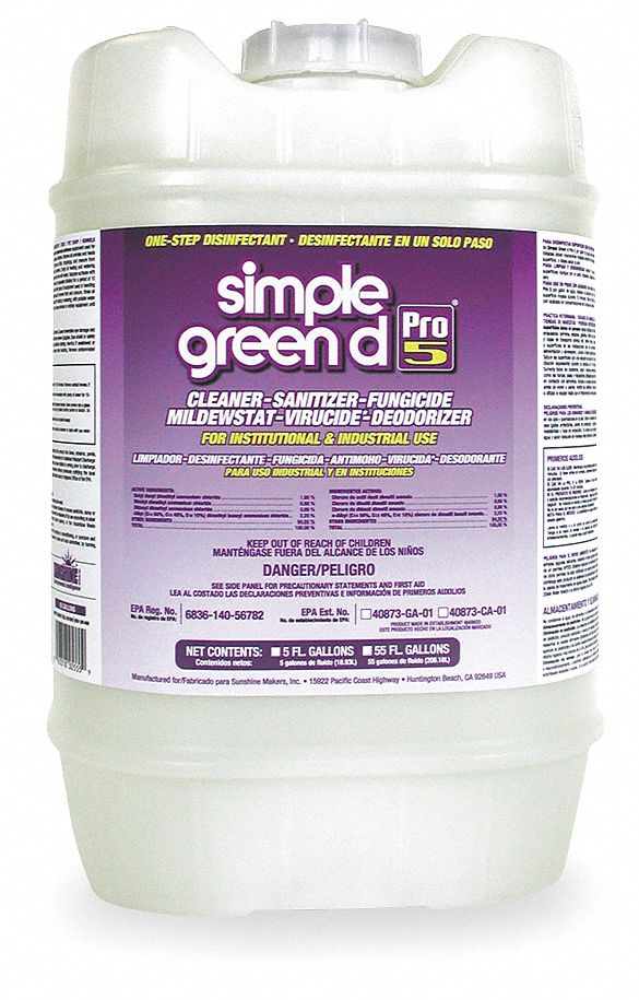 Simple Green Disinfectant And Sanitizer