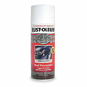 Auto Body Paint,White,12 oz.