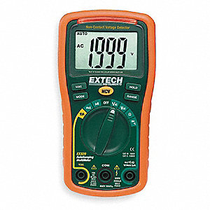 EXTECH (R) EX320 Compact - Basic Features Digital Multimeter, Instrument Counts: 2000