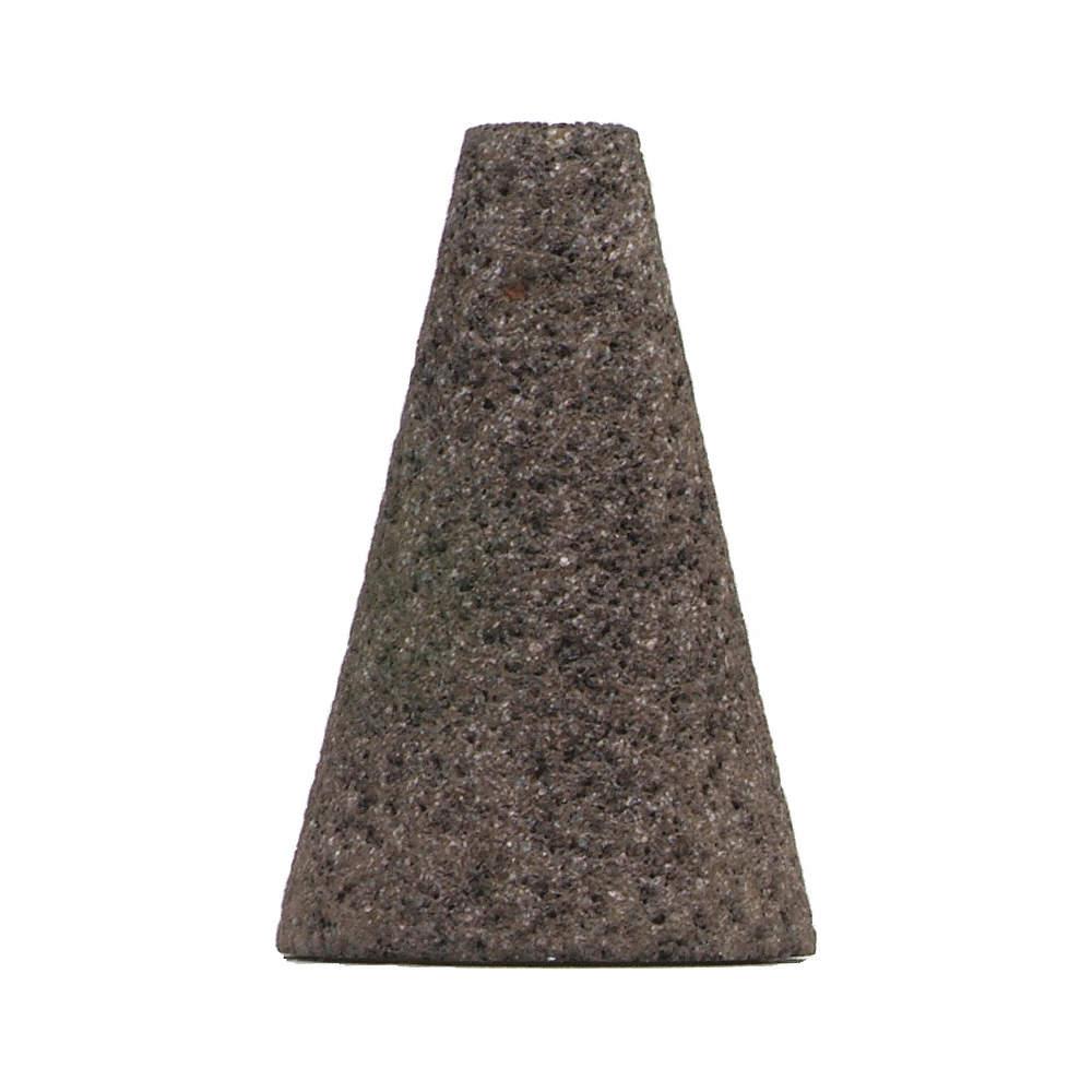 "24 Grit 5//8-11 Arbor 3/"" Thickness Norton 2/"" Grinding Cone Aluminum Oxide"