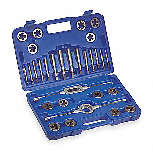 TAP/DIE SET,30 PIECES