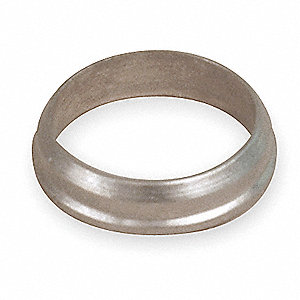"Stainless Steel A-LOK® Back Ferrule, 5/16"" Tube Size"