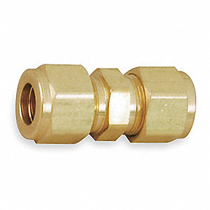 "Brass A-LOK® x A-LOK® Union, 3/8"" Tube Size"