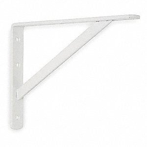 Utility Shelf Bracket,12 Lx8 In H