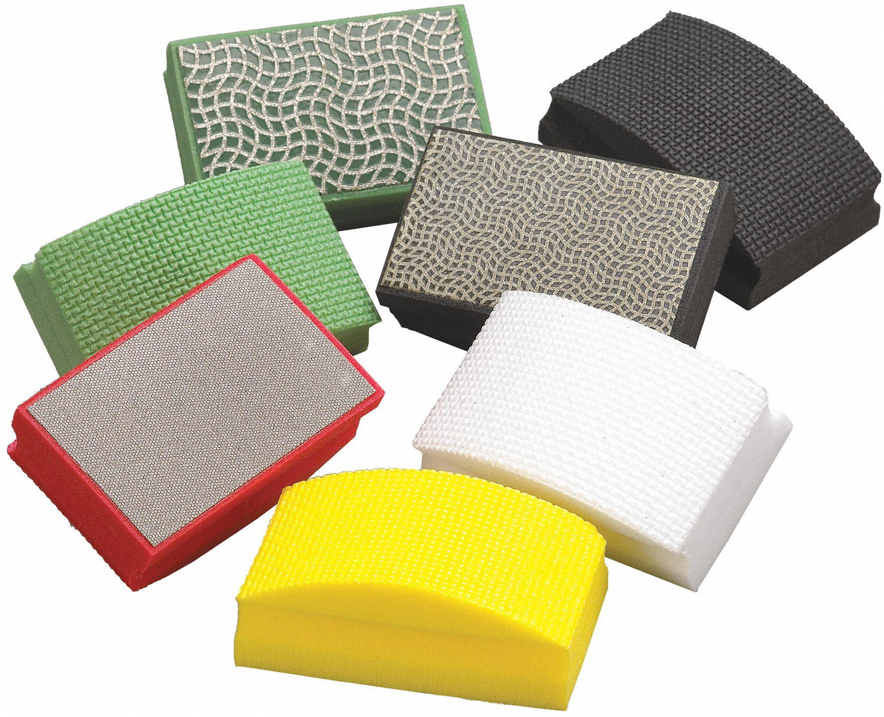 Sanding Hand Pad And Sponge Sets