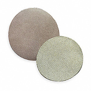 "8"" Coated PSA Sanding Disc, 400 Grit, No Hole, Super Fine Grade, Diamond 1, EA"