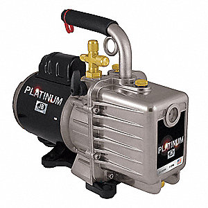 Refrig Evacuation Pump,3.0 cfm,6 ft.