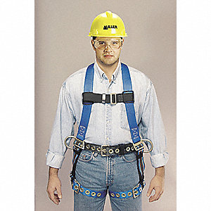 Duraflex Python® Full Body Harness with 400 lb. Weight Capacity, Green, L/XL