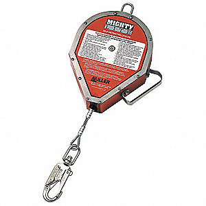 50 ft. Self-Retracting Lifeline with 400 lb. Weight Capacity, Red
