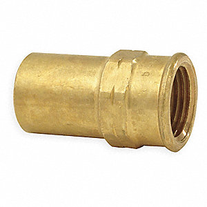 "Bronze Adapter, FTG x FNPT Connection Type, 1"" Tube Size"