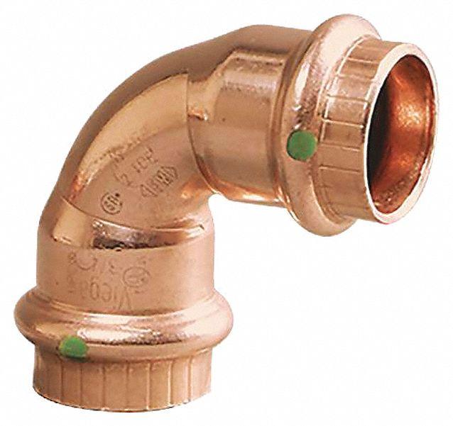 "New ProPress Viega 77607 1//2/"" 45 Degree Copper Elbow Lot of 10"