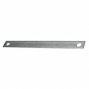 "For 3/8 or 1/2"" Rod Size Beam Clamp Strap, Pre-Galvanized Steel"
