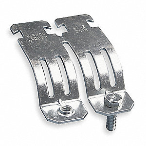 Heavy Duty Strut Pipe Clamp, 304 Stainless Steel