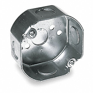 Electrical Box,Octagon,11.8 cu. in.
