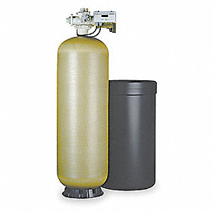"41"" x 24"" x 73"" Water Softener with Salt Storage Capacity of 1000lbs and 132,000 Max. Grain Capacity"