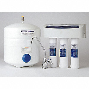 Reverse Osmosis System, Includes: Reverse Osmosis Assembly, Water Storage Tank, Drain Adapter Kit, F