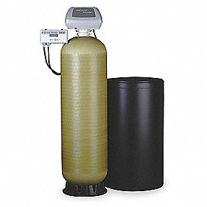 "41"" x 17"" x 64"" Water Softener with Salt Storage Capacity of 340lbs and 71,000 Max. Grain Capacity"