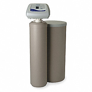 "14"" x 14"" x 51"" Water Softener with Salt Storage Capacity of 200lbs and 45,400 Max. Grain Capacity"