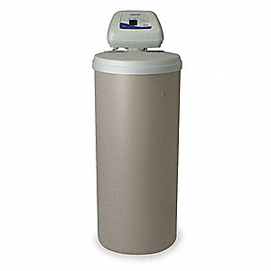 "18"" x 18"" x 49"" Water Softener with Salt Storage Capacity of 200lbs and 30,200 Max. Grain Capacity"