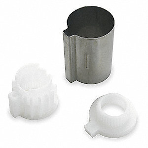 Tub and Shower 1H Stop Tube, For Use With 4FA77, 4FA78, 4ZF99, and 4ZG01