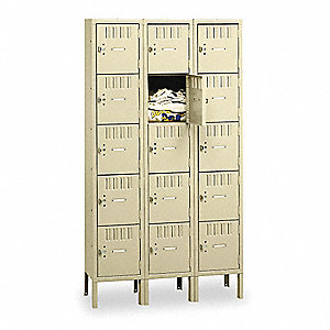 Box Locker,(1)Wide,(15)Person