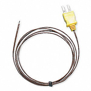 Mini K Thermocouple Bead Wire Temperature Probe, -40° to 500° Temp. Range (F)