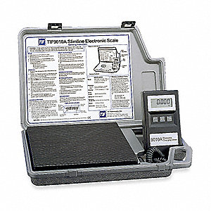 Refrigerant Scale,Electronic,110 lb