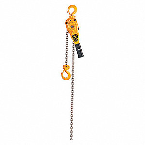 Lever Chain Hoist,1500 lb.,Lift 10 ft.
