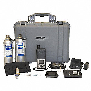 GasDet,LCD,CO H2S O2 PID,Pump,ExtBat,Kit