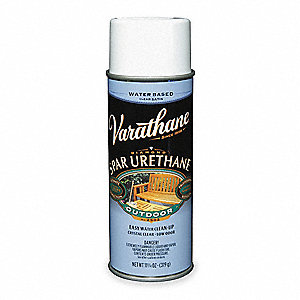 Spar Urethane Spray,Clear,11.25 oz.