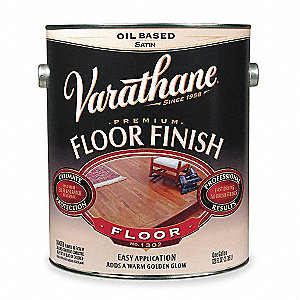 Floor Finish,Crystal Clear,Satin,1 gal.