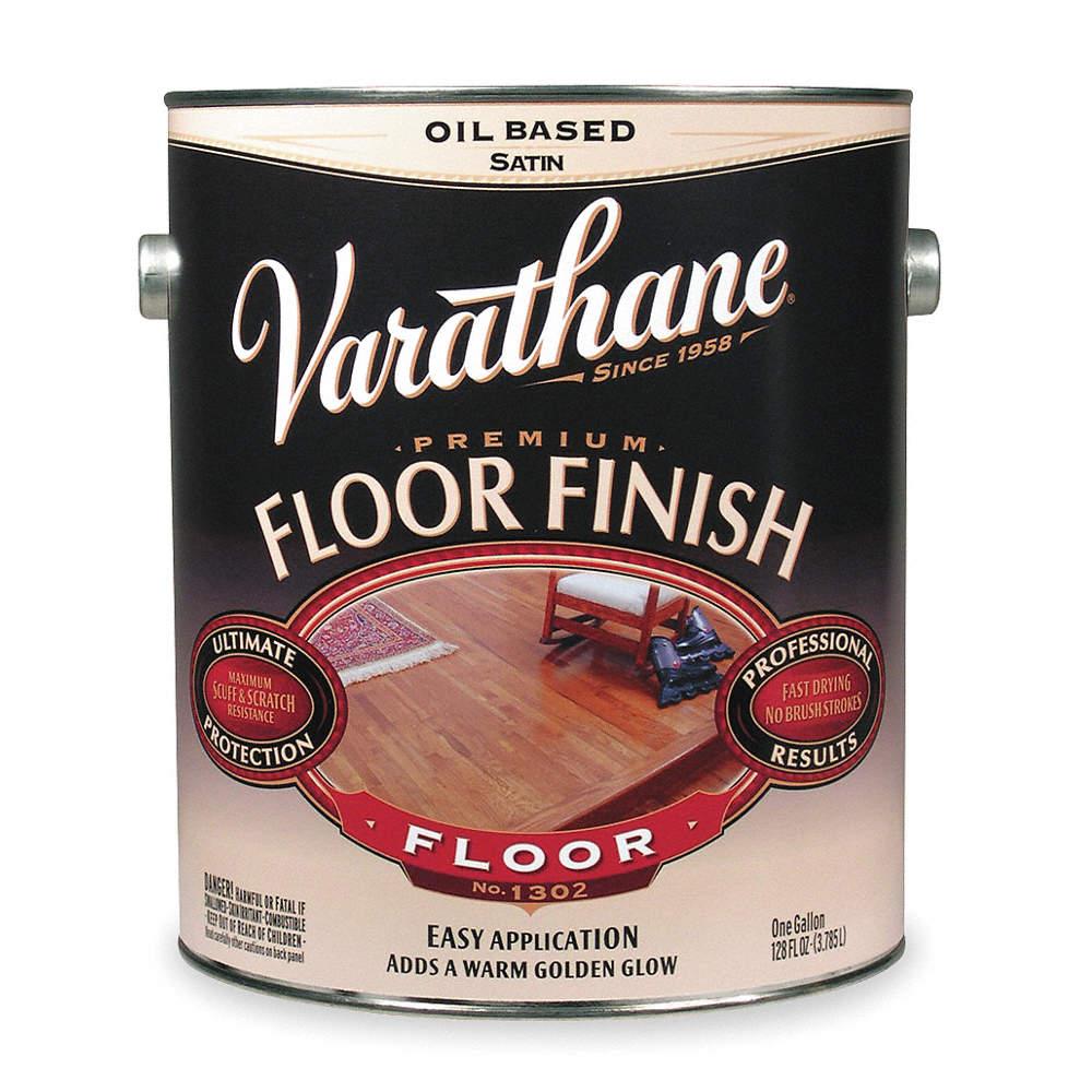 Rust Oleum Semi Gloss Floor Finish For Wood Crystal Clear 1 Gal