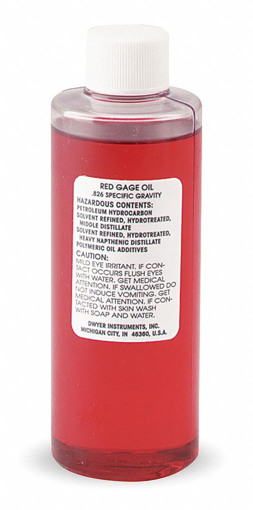 GAGE OIL,  Red,   0.826 Specify Gravity