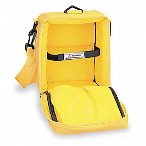 Carrying Case,Nylon,Yellow