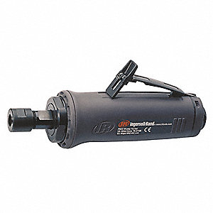 "Industrial Duty Straight Air Die Grinder, 0.4 HP with 1/4"" Collet"