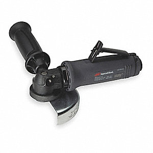 "7-3/4"" Industrial Duty Air Angle Grinder"