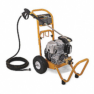 Medium Duty (2000 to 2799 psi) Gas Cart Pressure Washer, Cold Water Type, 2.3 gpm, 2700 psi